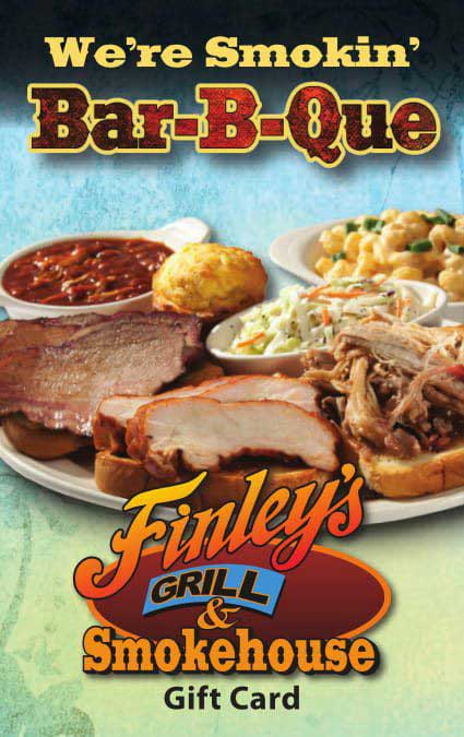 Finley's Gift Card - $10